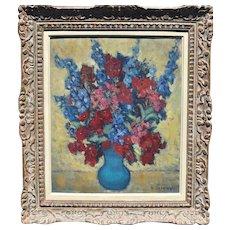 Yvonne DELDICQUE (1895-1977) French Post Impressionist