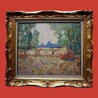 Henri STENN (1903-1993) Post Impressionist