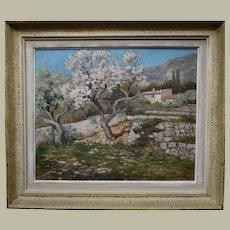 Luigi LANZA (1860-1913) Italian School Oil Painting