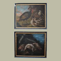 Pair of Old Master French Oil Paintings