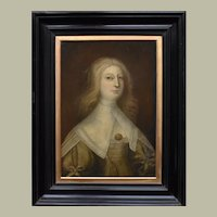 A Dutch Golden Age Painting c1650 of a Woman of Quality