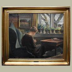 Eiler Sorensen (1869-1953) Danish School c1920 Oil Painting