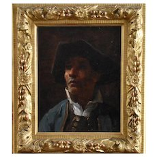 Henry MOSLER (1841-1920) Franco-American Portrait