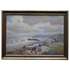 Th. FRIIS aka Mark Osman CURTIS (1879-1959) Danish Impressionist