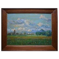 Alexey Konstantinovich KOROVINE (Russian 1897-1950) Le Puy en Velay