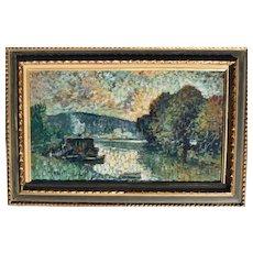 Merio Ameglio (1897-1970) French Post impressionist