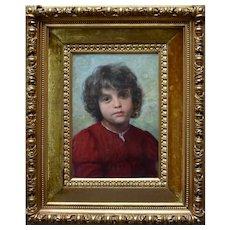 Wenzel Ulrik TORNÖE (1844-1907) Italian Boy Siena