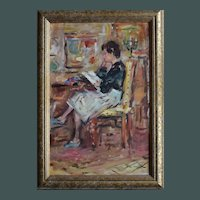 Max AGOSTINI (1914-1997) French Contemporary Impressionist