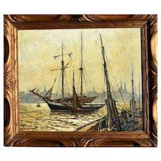 Gustave Vidal (1895-1966) French Post Impressionist