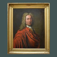 French School c1730 Portrait of an Aristocrat Oil Painting