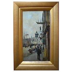 Charles James LAUDER (1841-1920) Glasgow School Greenock Scotland Oil Painting