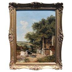 George VINCENT (1796-c.1831) View Near Norwich English School Landscape