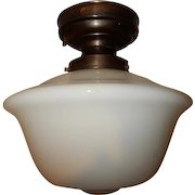 Large-Schoolhouse-Ceiling-Fixture-Electric-on-Brass-Fixture-Pr-Available