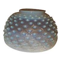 "10"" Opalescent Hobnail Kerosene Oil Parlor Student Lamp Shade"