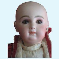 beautiful JUMEAU  doll. size 9 ..Rare Lady body.original jumeau dress