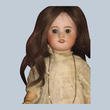 Pretty Antique Dressed SFBJ 60 Doll 17 inch,