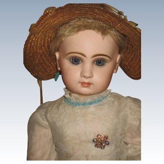 Big Beautiful  Jumeau Doll.25 size 12 inch