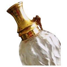 CALENDAL - Molinard Perfume Atomizer - Lalique crystal