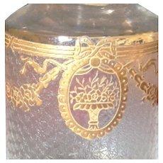 Baccarat / Saint-Louis 13-pc Gilded Luxury Vanity Set: SAPHO