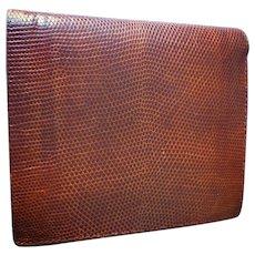 Elegant Brown Shagreen Leather Wallet (A1)