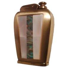 "Gold Plated ""Corona"" Novelty 1950's Perfume Atomizer"