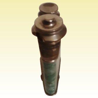 SPLENDOR, Green Vintage Swiss Perfume Atomizer