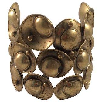 Circular Brass Cuff