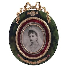 Faberge Style Picture Frame