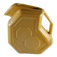 Vintage Alamo Pottery pitcher yellow glaze