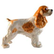 Vintage Boehm Cocker Spaniel dog figurine in excellent estate condition