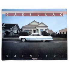 Deluxe book CADILLAC by Salmieri printed by Rizzoli in 1985