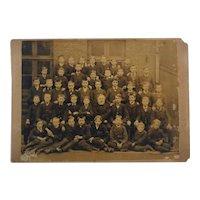5 Victorian era cabinet cards circa 1890s German and American