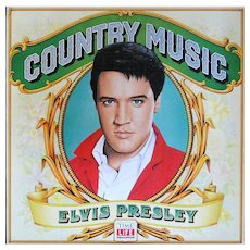 Elvis Presley vinyl album on Time Life, limited edition, excellent condition