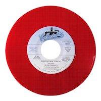 Elvis Presley limited edition red vinyl 45rpm record Good Rockin' Tonight