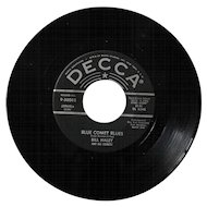 "Original 1956 45 by Bill Haley and His Comets ""Rudy's Rock"""