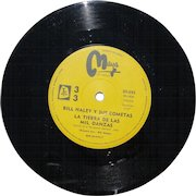 """Bill Haley 45 from Argentina, """"Land of 1000 Dances"""" from the 1960s, recorded in Mexico"""