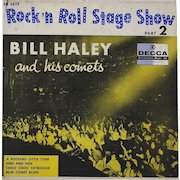"""Original 1956 Bill Haley and His Comets EP """"Rock and Roll Stage Show Vol.2"""" made in Mexico"""