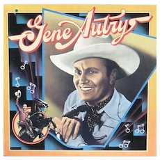 Vinyl Gene Autry album, Columbia Historic Edition series in excellent condition
