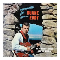 Original Duane Eddy vinyl album in EX- condition, Especially For You
