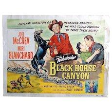 3 vintage movie lobby cards, westerns, starring Joel McCrea