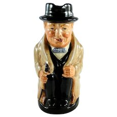 Royal Doulton Winston Churchill creamer mug, excellent condition