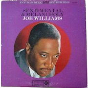 Vintage phonograph album by Joe Williams, jazz singer, on Roulette