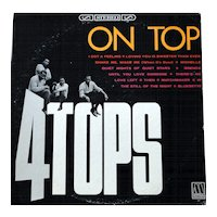 "Original vintage album by the Four Tops, ""On Top"", on Mowtown"