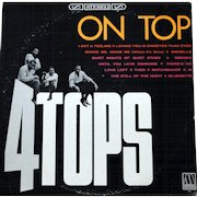 """Original vintage album by the Four Tops, """"On Top"""", on Mowtown"""