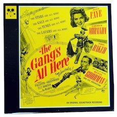 The Gang's All Here vinyl album Soundtrack on Classic International Filmusicals label