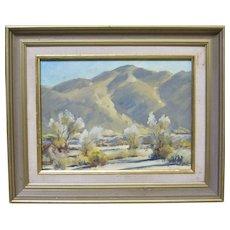 Darwin Duncan Palm Desert Early California Plein Air Landscape Oil