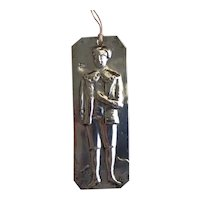 Charming Antique 800 Greek Silver Young Boy Ex Voto Tamata Milagro