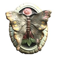 Ultra Rare 1926 Waverly Cast Iron Butterfly Doorknocker New In Box All Original