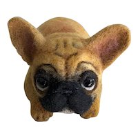 Sweetest Hand Felted French Bulldog by Anna Stavytska