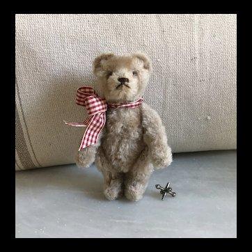 Sweet Vintage Fully Jointed Mohair Teddy Bear